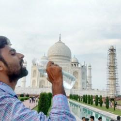 A Day at Taj Mahal