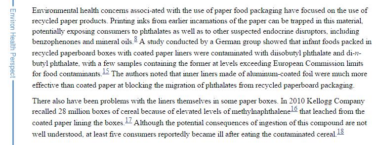 wrap food in newspaper