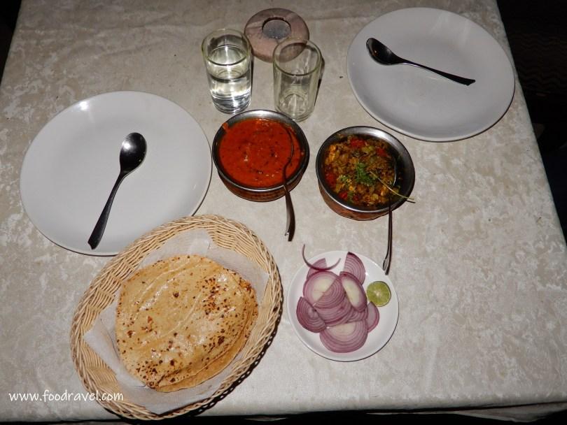 Food in Khajuraho