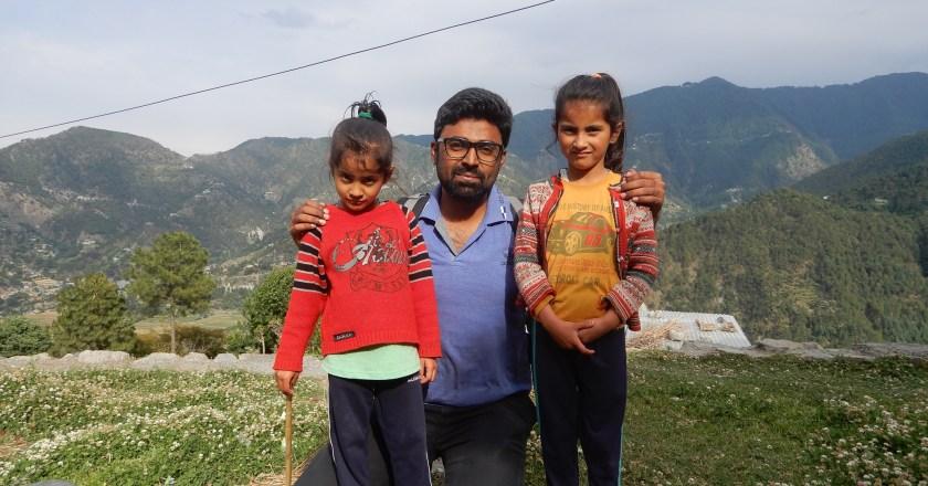 Village Malura gave me lasting memories – Smile of Kritika and Angel
