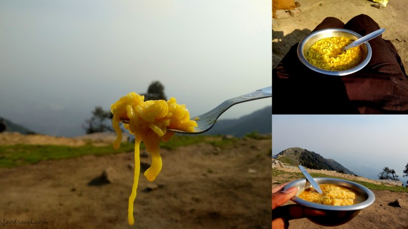 Maggi at the bank of a river
