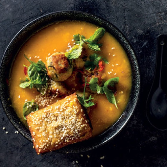 This is next level butternut soup – so yummy 1