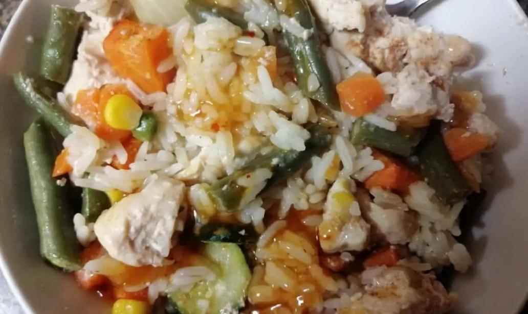 One Pot Chicken Casserole food recipes