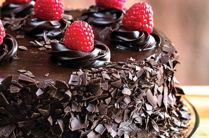Delicious and moist: Mayo chocolate cake recipe 1