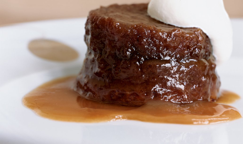 Easy sticky toffee pudding food recipes