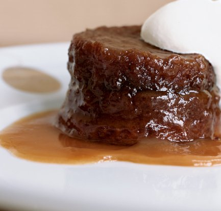 Easy sticky toffee pudding with toffee sauce: Recipe 4