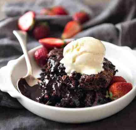A classic chocolate self saucing pudding that is soo easy to make 6