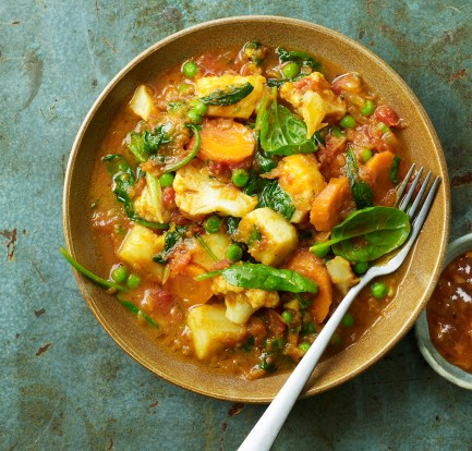Microwave vegetable curry – Recipe 1