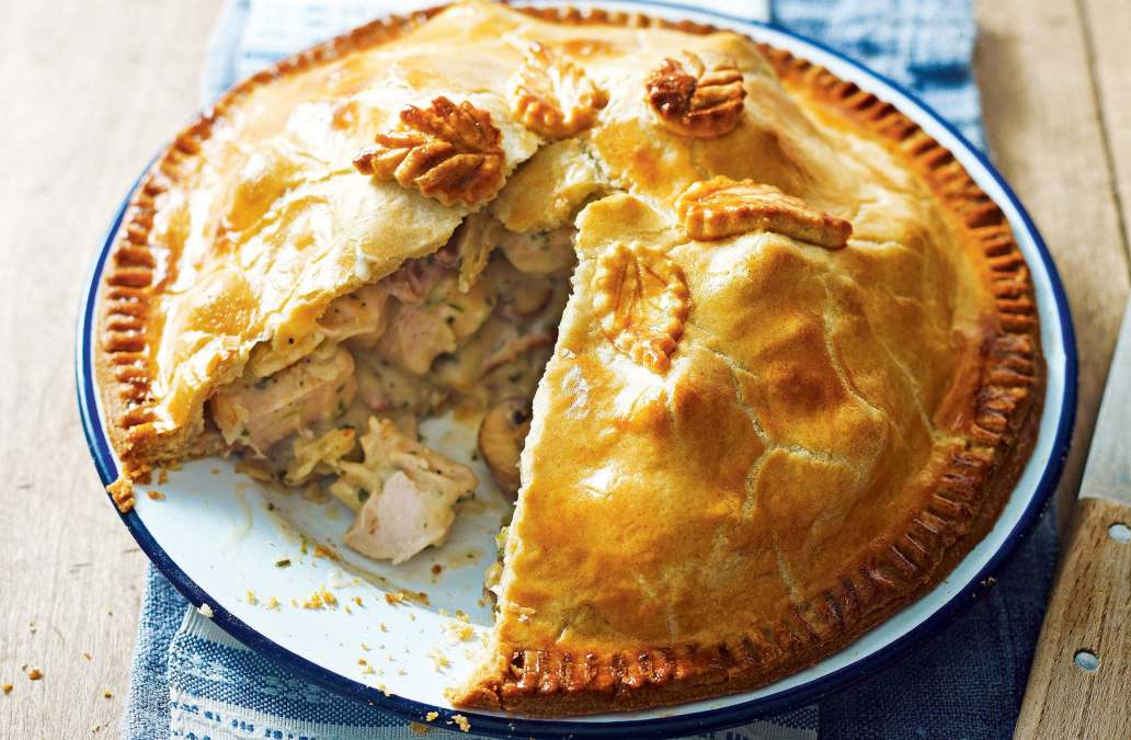chicken and mushroom pie recipes