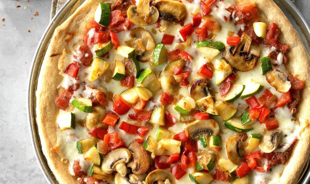 This is how to make Vegetable Pizza – Recipe 1