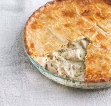 How to make chicken and mushroom pie