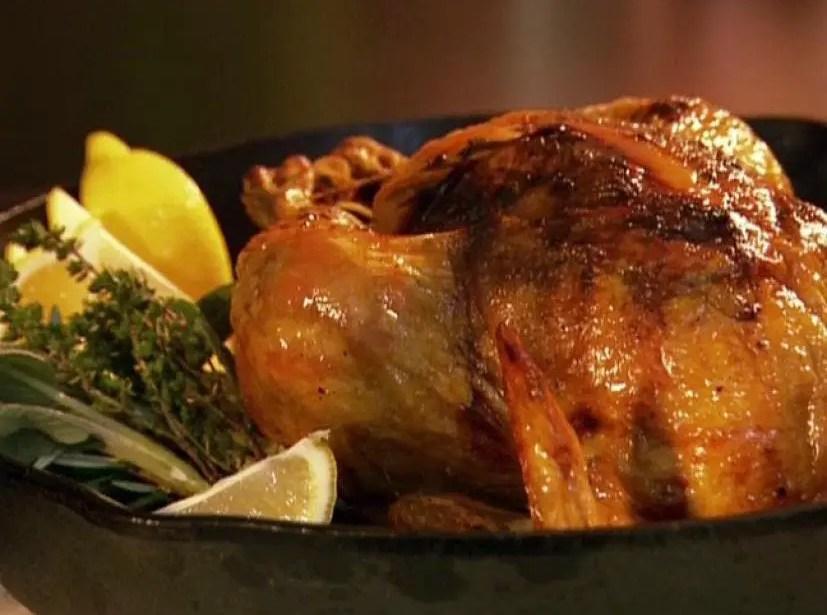 Roast chicken with perfect gravy – Recipe