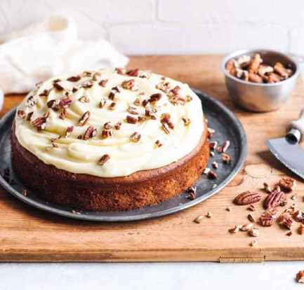 Banana Cake With Creamy Cheese Frosting – Recipe 1