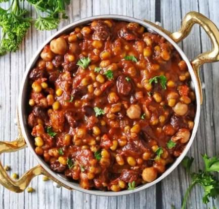 Mexican bean stew – Recipe 2