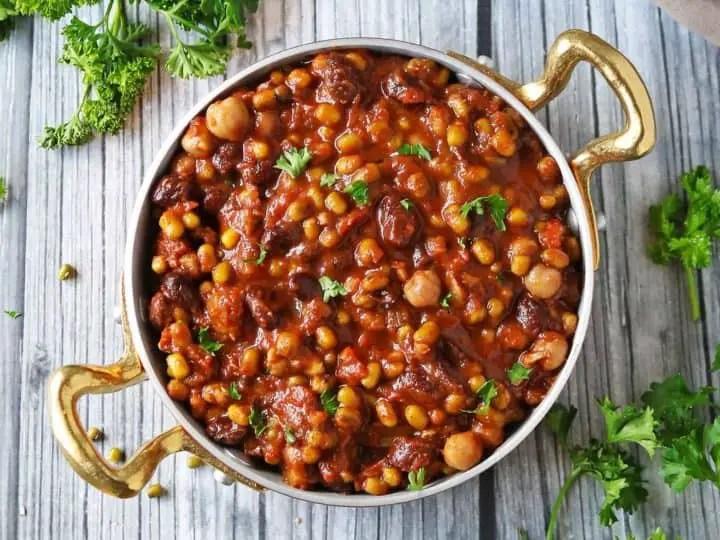 Mexican bean stew – Recipe 1