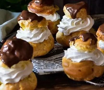 Recipe – Chocolate eclairs 1