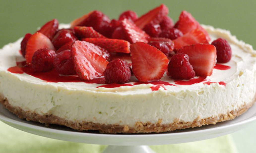 Low-fat cheesecake – Recipe 1