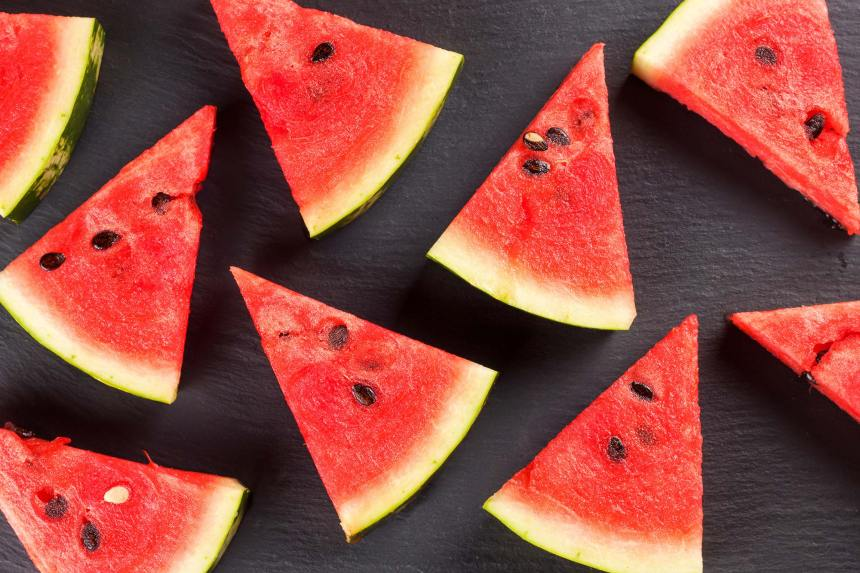 Foods for healthy skin - watermelon
