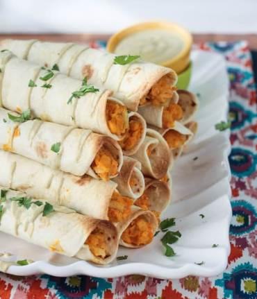 植物性冷凍食品,鷹嘴豆和朝鮮薊素食主義者Taquitos