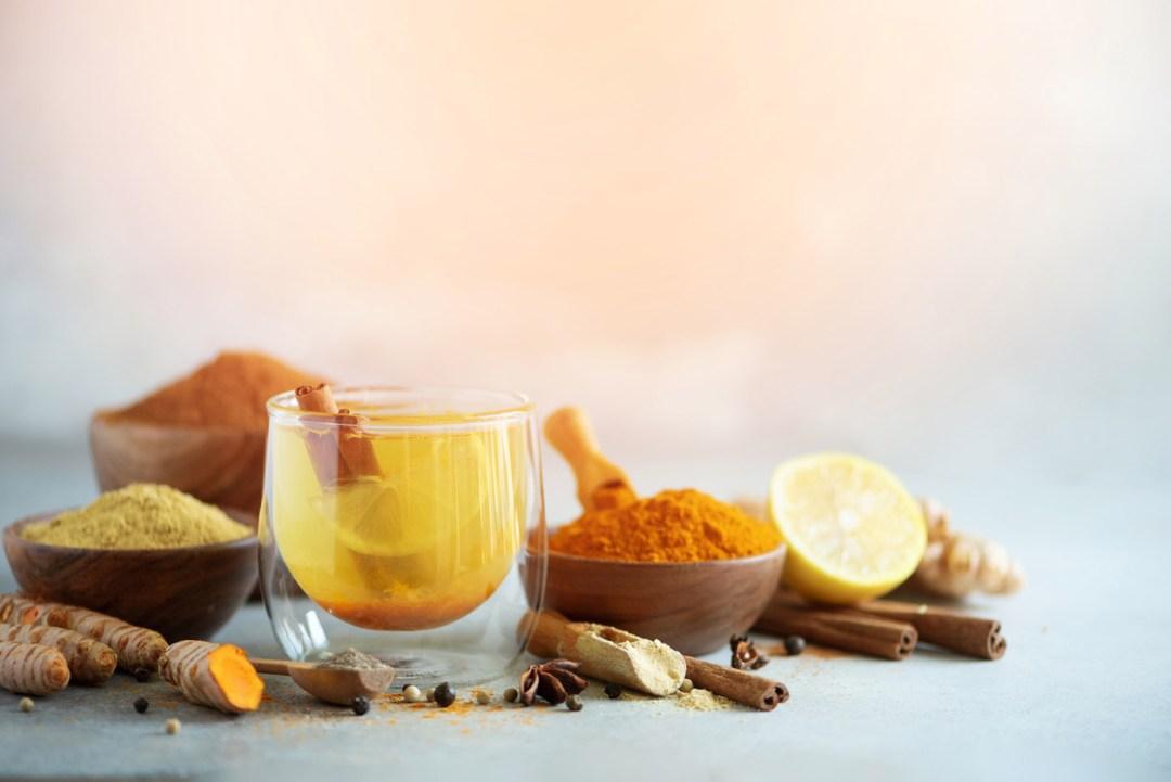 薑黃熱茶的成分