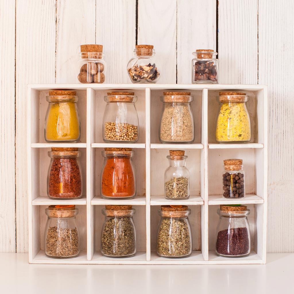 儲物罐中的香料