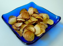 crunchy sweet potato chips