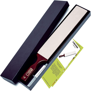 Green Elephant Leather Strop with Stropping Compound
