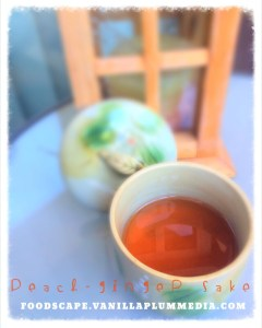 Peach-Ginger Sake