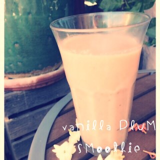 Vanilla Plum Smoothie