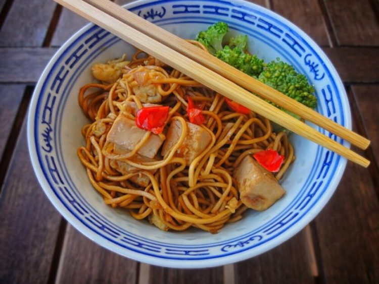 how to make tofu with noodles