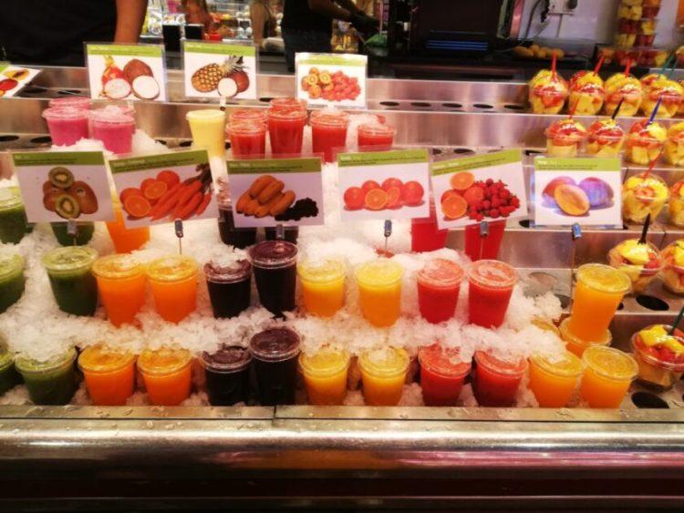 fresh fruit juice in barcelona