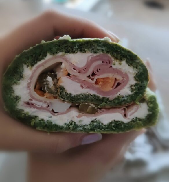 spinach green pinwheels recipe