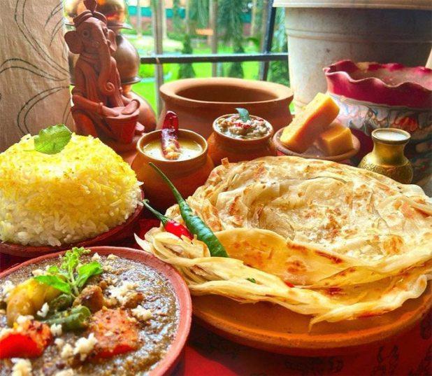 Malabari Pratha at Traders Joe's