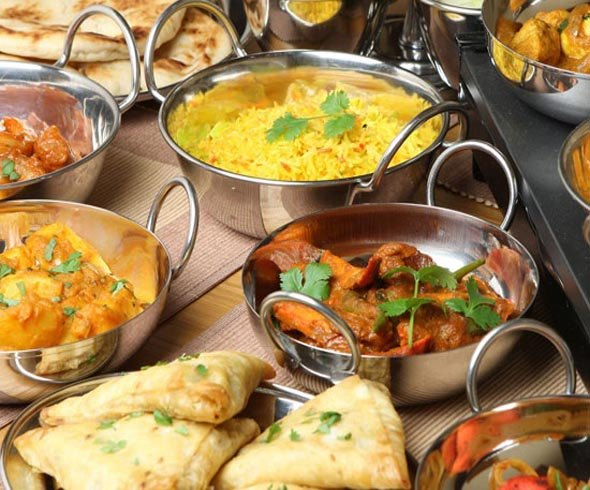 Spicy Indian Food