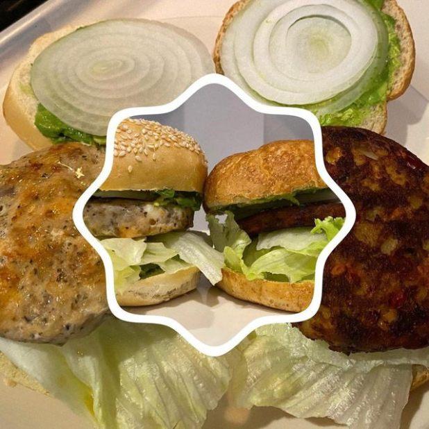 Tasty Masala Vegetable Burger
