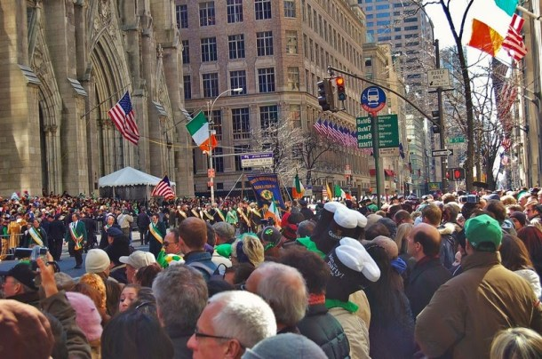 5th Avenue am St. Patricks Day