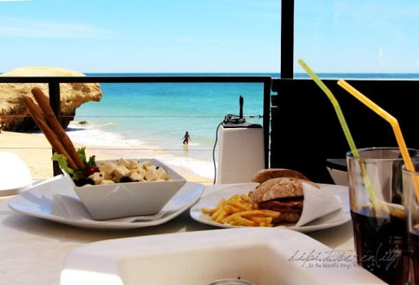 Restaurante Pedras Amarelas an der Algarve, Portugal