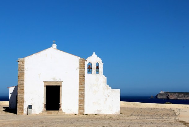 Fortaleza de Sagres bei Ponta de Sagres, Algarve, Portugal
