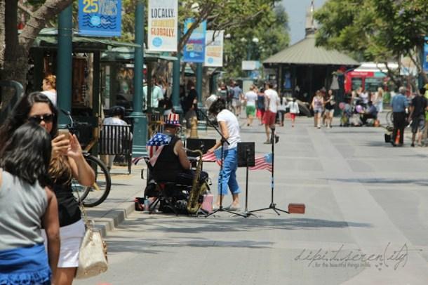 Santa Monica, 3rd Street Promenade, Kalifornien