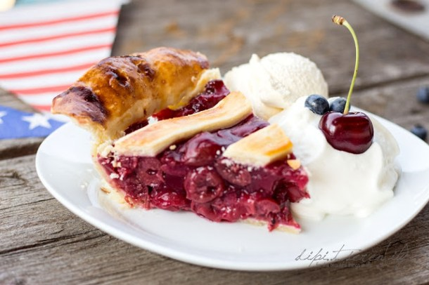 Lecker Kirsch-Pie