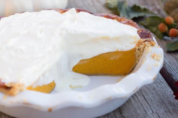 Pumpkin Pie - Hokkaido-Kürbis Kuchen
