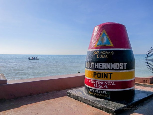 Typisch Key West, Florida - Southern Most Point - dipitontour