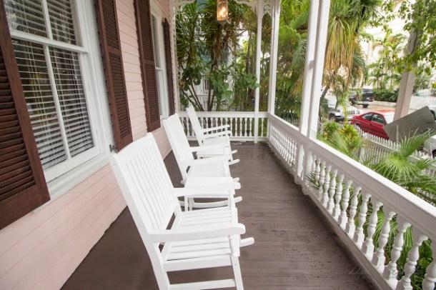 Tolles Hotel in Key West mit Frühstück, alles gut zu Fuß erreichbar.