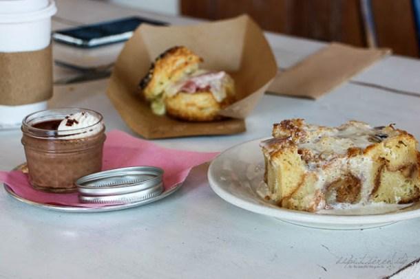 Bourbon Bread Pudding zum Frühstück