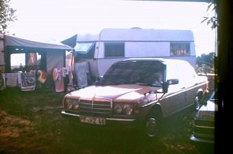 Camping in den 80er Jahren.