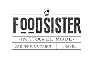 Logo für foodsister in travel mode