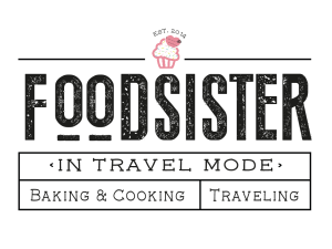 foodsister in travel mode
