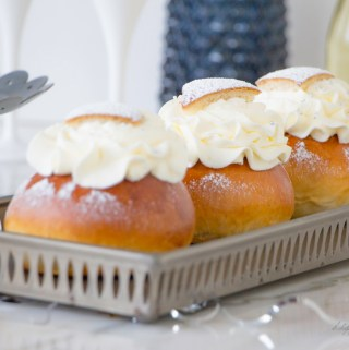 Semla Fasching Foodsister in travel mode