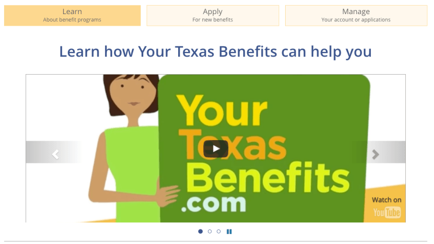 """Yourtexasbenefits.com Login into your account"""