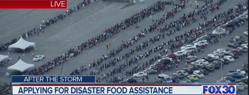 """""""Disaster Food Stamps for Hurricane Florence"""""""